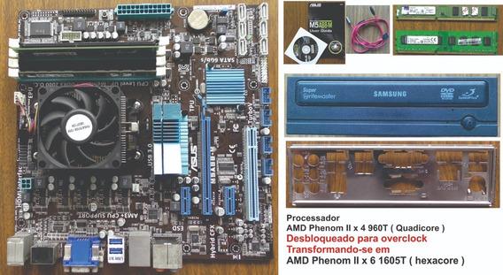 Kit Completo Pc Amd Phenom Iix4 960t Quadicore Desbloqueado