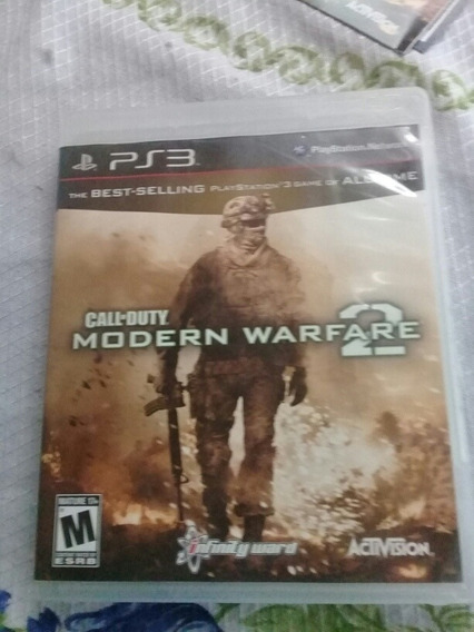 Call Of Duty Modern Warfare 2 Ps3 Completo Consevado.