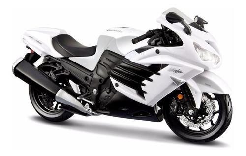 Imagen 1 de 5 de Moto De Colección Nueva Kawasaki Zx14  Escala 1:12 Maisto