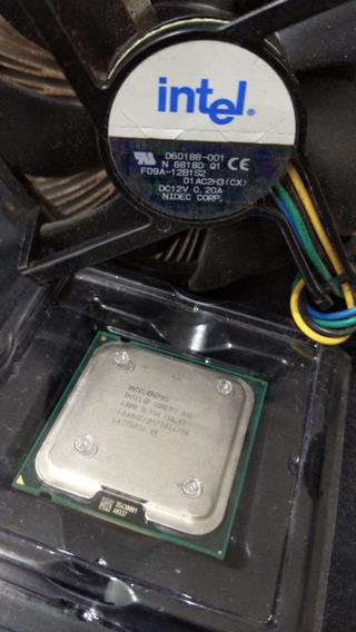 Processador Intel Core 2 Duo + Cooler Box Intel