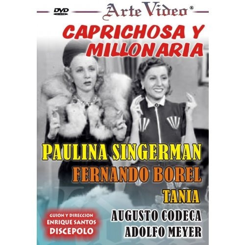 Caprichosa Y Millonaria - Paulina Singerman - Dvd Original