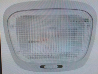 Lanterna Teto Cortesia Gol G2 G3 G4 Sem Temporizador