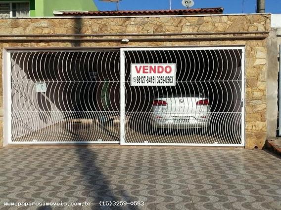Casa Para Venda Em Tatuí, Jardim Planalto, 2 Dormitórios, 1 Suíte, 2 Banheiros, 2 Vagas - 062
