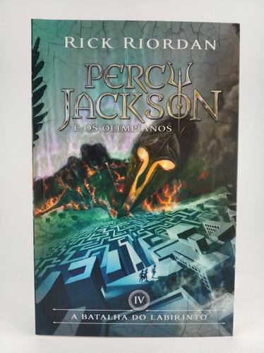 Livro Percy Jackson E Os Olimpianos. 4 - A Batalha Do Labiri