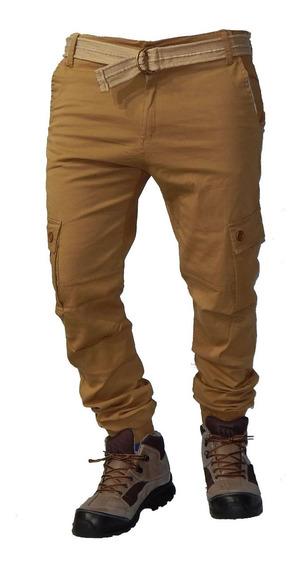 Pantalon Cargo Elastizado Jeans710