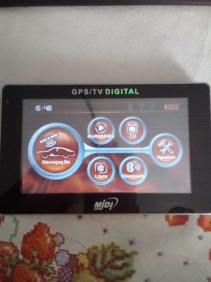 Gps/tv Digital Md-5049 Isdb-t 5