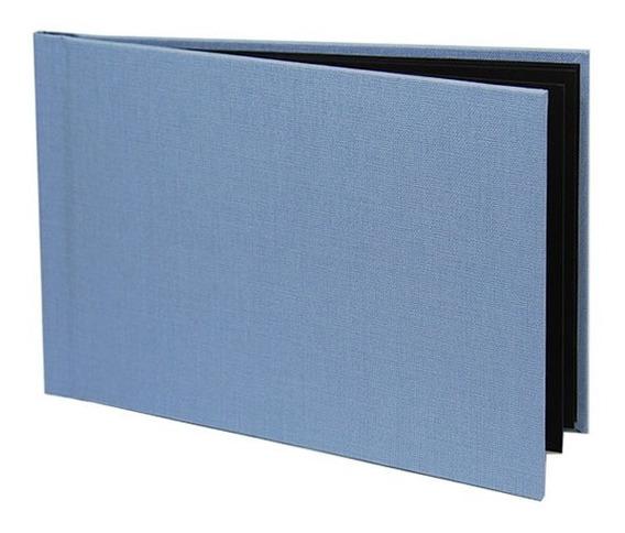 Photobook Kodak Album Adesivado Azul Bebê - 10x15 Linem