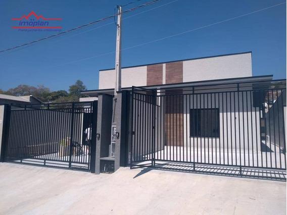 Casa Térrea Com 3 Dormitórios À Venda, 70 M² Por R$ 385.000 - Jardim Maristela - Atibaia/sp - Ca3867