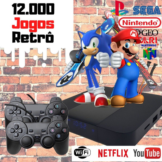 Video Game Retro Smart Emulador Multi Jogo Nostalgia