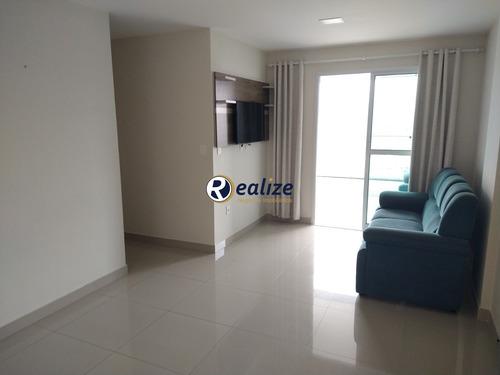 Apartamento Mobiliado De 3 Quartos De Frente Para A Rua Com Área De Lazer Na  Praia Do Morro - Ap01025 - 69664824