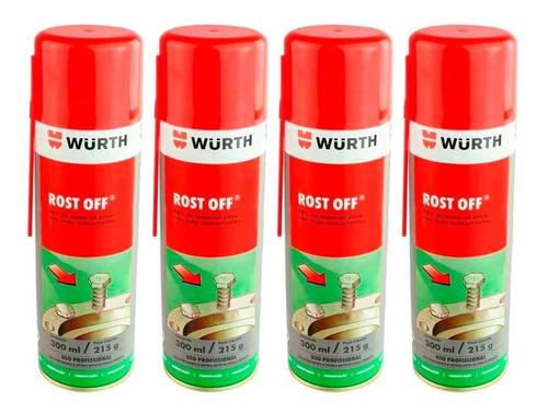 Imagem 1 de 3 de 12 Rost Off Wurth Lubrificante Desengripante Antiferrugem