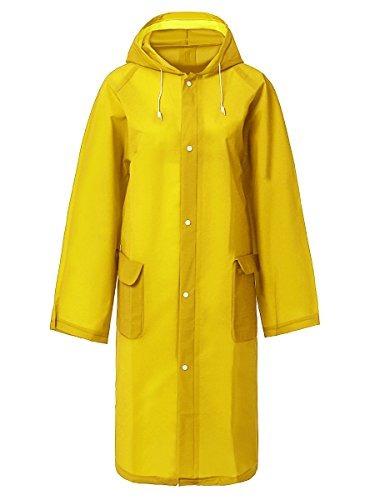 Impermeable Botón Lluvia Poncho Desechable Raincoats Chaquet