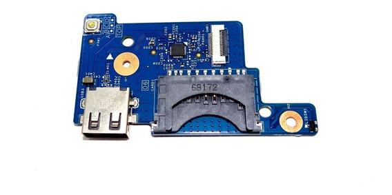 Placa Power E Card + Usb Notebook Acer Es1 571 Original Novo