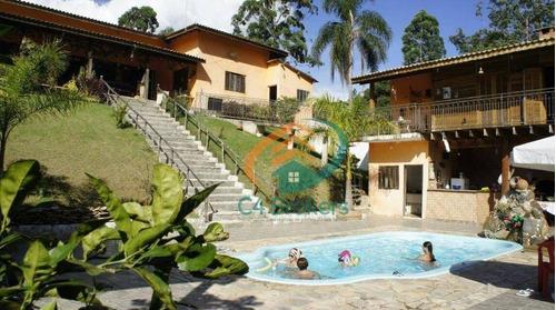 Imagem 1 de 25 de Chácara Com 4 Dormitórios À Venda, 1500 M² Por R$ 550.000,00 - Tapera Grande - Mairiporã/sp - Ch0010