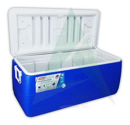 Imagen 1 de 2 de Hielera Cooler Térmica Coleman 150 Qt  142 Litros