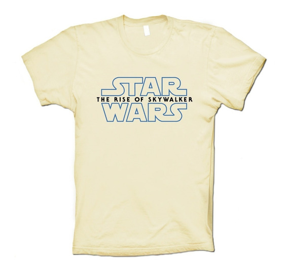 Star Wars Playera The Rise Of Skywalker Hombre Mujer Niño Lc