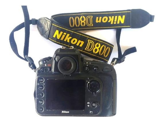 Camera Dsrl Nikon D800 + Lente Nikon 85mm F1.8