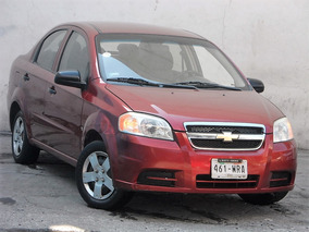 Chevrolet Aveo 2010, 1.6 M 5vel Mp3 R-14 Mt Tgr Automotriz