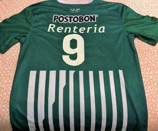 Camisa Do Atletico Nacional 2014 Renteria #9