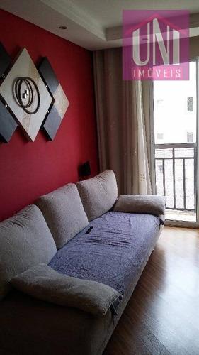 Imagem 1 de 19 de Apartamento Residencial À Venda, Parque Erasmo Assunção, Santo André. - Ap1069