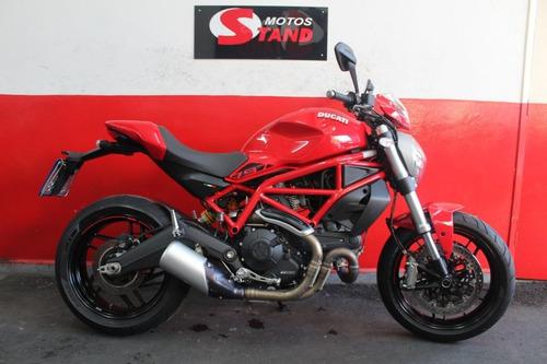 Imagem 1 de 11 de Ducati Monster 797 Abs 2020 Vermelha Vermelho