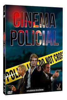 Cinema Policial 2 Dvds Originais Lacrado 4 Filmes Com Cards