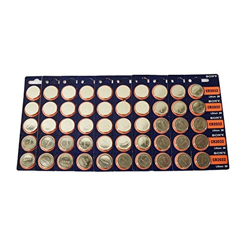Cr2032 Sony Litio 3v Batería 50 Piezas
