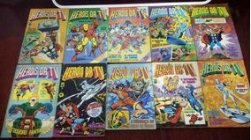 Herois Da Tv Coleçao Completa Figurinhas E Dicionario Marvel