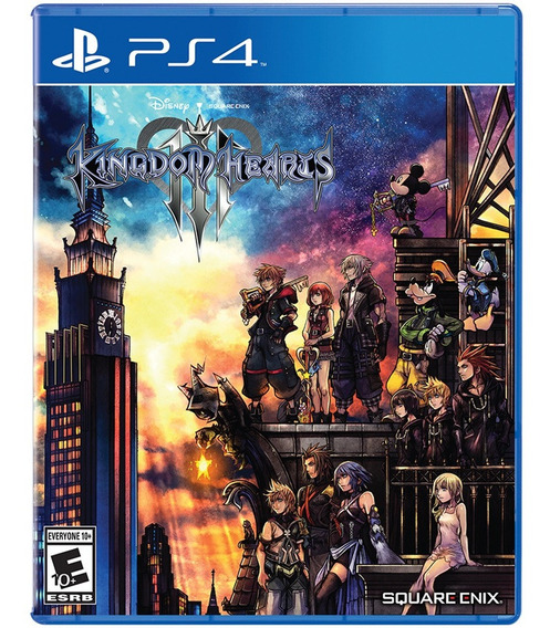Jogo Kingdom Hearts 3 Iii Ps4 Disco Fisico Game Original Novo Lacrado Rpg Barato