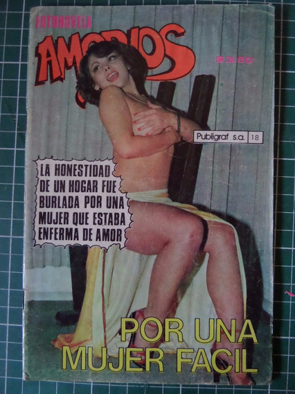 Revista Amorios Fotonovela Vedets Mayola Olvera