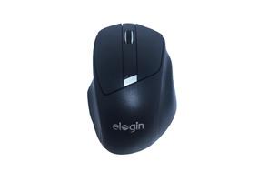 Mouse Óptico Profissional Usb Sem Fio 2,4ghz 1600dpi Elogin
