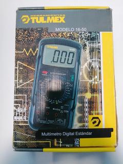 Multimetro Marca Tulmex Modelo 16-50 Nuevo