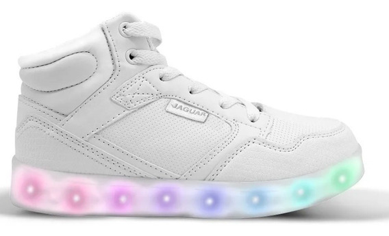Zapatillas Led Luces Carga Usb Jaguar 04011-40 Luminares