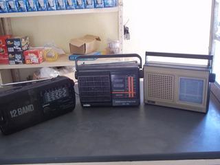Kit 3 Radios Portátil , Motoradio 6f, Motobras 2f Cougar