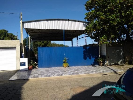 Galpão Comercial, 130 M², Centro - Aceita Carro Ou Casa De Menor Valor - Negocia - Peruíbe - Gl00006 - 33096602