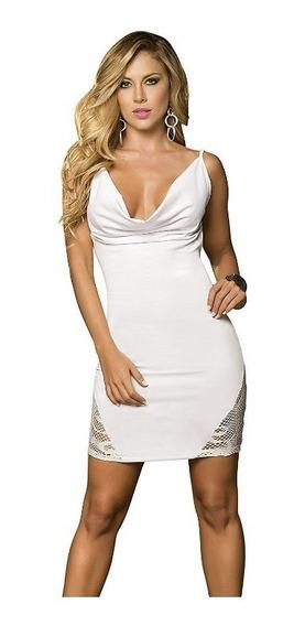 Vestido Sexy, Ideal Para El Antro Mod. Negro Talla Mediana