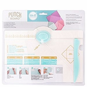 Tablero Punch De Sobres We R Memory Keepers