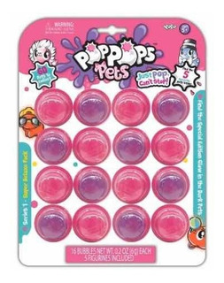 Pop Pops Pets Pack 16 Pk