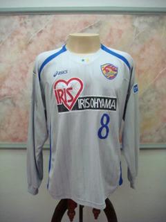 Camisa Futebol Vegalta Sendai Japão Asics Jogo Antiga 2490