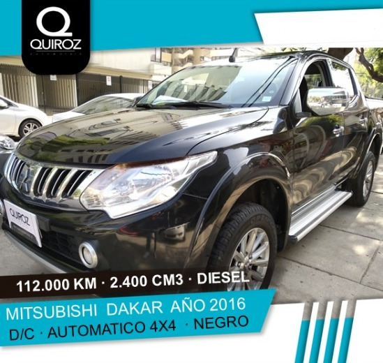 Mitsubishi L200 Dakar 2.4 Diesel Full At Año 2016
