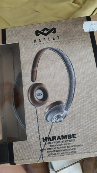 Headphone Marley Harambe - Usado.