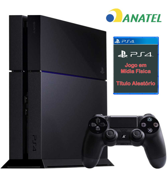 Ps4 Sony Phat Original 500 Gb + 01 Jogo