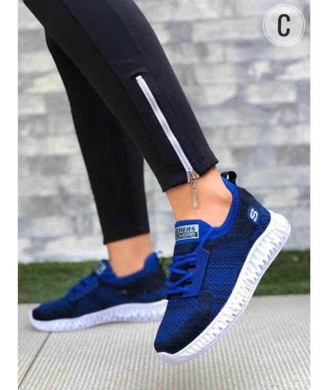 Zapatos Mujer, Tipo Skechers, Zapatillas Dama Deportivas