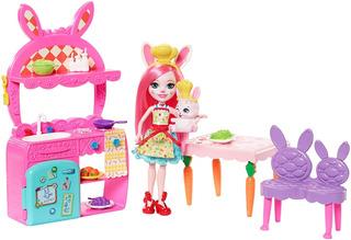 Enchantimals Cocina Diversión Juego Bree Bunny Doll Twist...