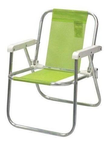 Cadeira Varanda Infantil Em Alumínio - Botafogo