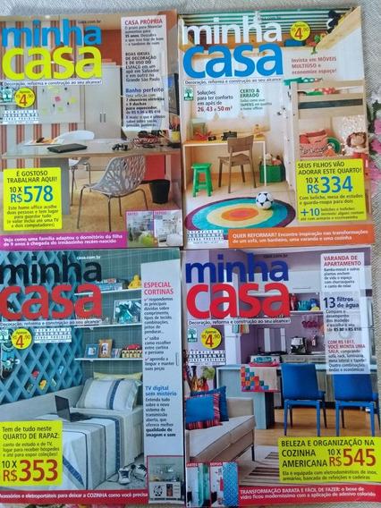 Revistas Minha Casa Exemplares Do Ano De 2012