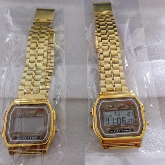Relógio Estilo Casio Vintage Unissex