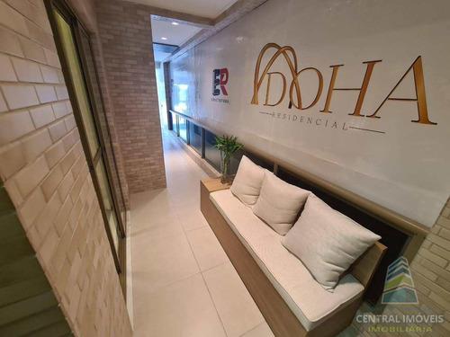 Apartamento Com 2 Dorms, Canto Do Forte, Praia Grande - R$ 382 Mil, Cod: 9185 - V9185