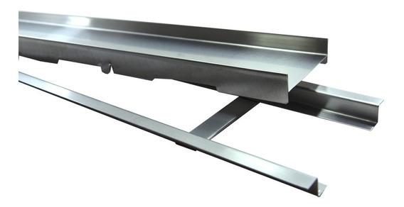 Kit 30 Ralos Linear Infinity Oculto Inox 304 Para Áreas Externas