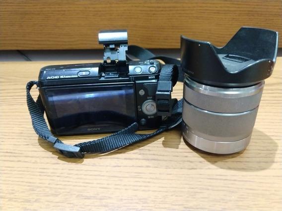 Câmera Digital Sony Nex-f3b Aceito Oferta